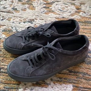 Woman by Common Projects suede Achilles low tops